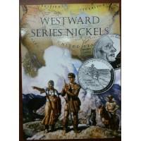 Альбом для 5 центов монет США 2004-2006 гг. Путешествие на Запад Льюиса и Кларка.