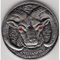 Монголия 500 тугриков 2013 год. Архар (горный баран). КОПИЯ!