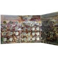 Набор монет в альбоме «200-летие победы в Отечественной Войне 1812 года», 28 монет