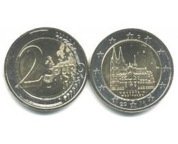 2 Евро 2011 год. Германия. Кёльнский собор