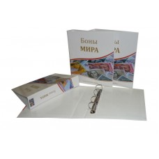 """Альбом для банкнот """"Боны Мира"""" без листов, Оптима"""