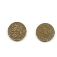 1 пенни 1919 года (Регулярный выпуск) — Финляндия