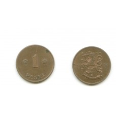1 пенни 1920 года (Регулярный выпуск) — Финляндия