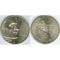 5 центов 2005 год. США. Выход к океану, двор D