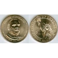 1 Доллар 2012 год. США. Гровер Кливленд 22-й президент (P)