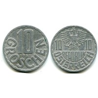 10 грошей 1952 год. Австрия.