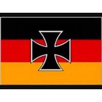 Германский торговый флаг с Железным Крестом