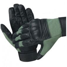 Перчатки EDGE Commando Action, олива-черные, новые