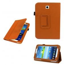 "Кожаный чехол для планшета Samsung Galaxy Tab 3 7.0 ""7"" P3200/P3210"
