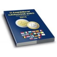 Каталог банкнот и монет евро 1999-2013 годов.