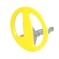 """Защита на катушку Minelab Excalibur BBS 10"""" Желтая"""