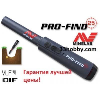 Металлоискатель Pinpointer Minelab Pro-Find 25