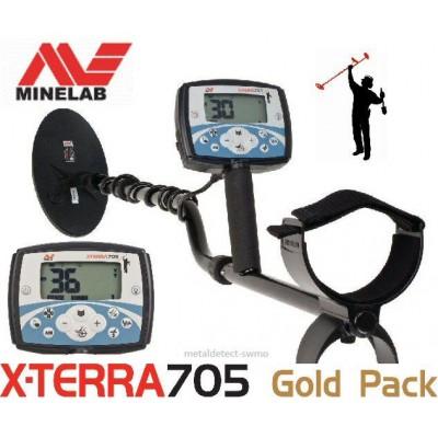 Металлоискатель Minelab (Минелаб) X-Terra 705 Gold Pack