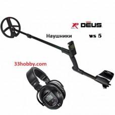 Металлоискатель XP Deus v4 RUS, Блок, катушка 22см, наушники WS5