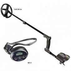Металлоискатель XP Deus v4 с катушкой 28 см. и наушниками WS4 (без блока управления)