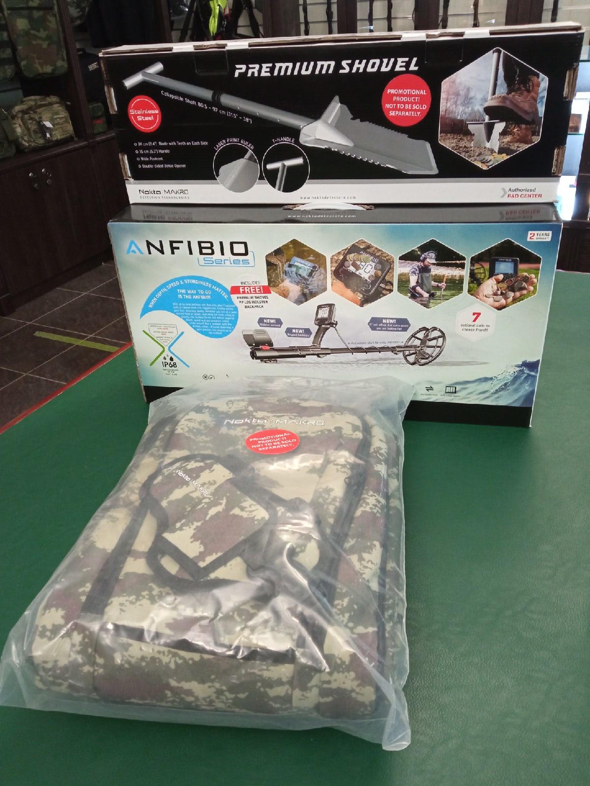 Металлоискатель Nokta Makro Anfibio Multi Promo