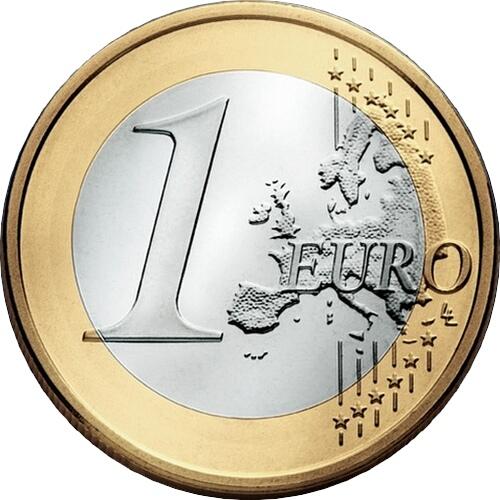 1 Евро 2017 год. Финляндия