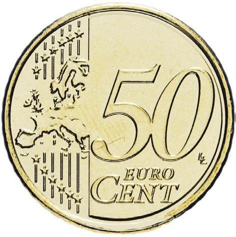 50 Евроцентов 2015 год. Люксембург