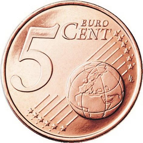5 Евроцентов 2002 год. Ирландия
